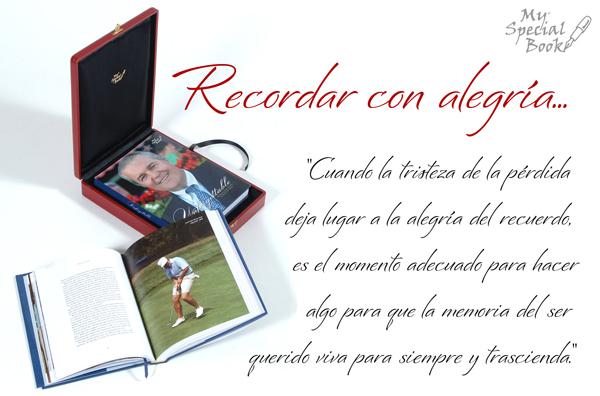 Recordar Al Ser Querido My Special Book