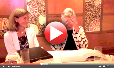 Watch Marilyn receiving her surprise book